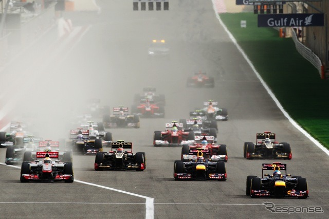 F1-Bahrain GP-race start