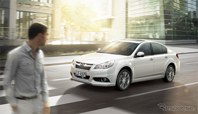 2013 Subaru Legacy for Chinese market