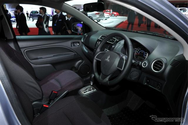 Mitsubishi Mirage (2011 Tokyo Motor Show)