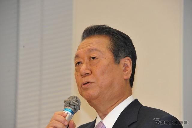 Former President Ichiro Ozawa