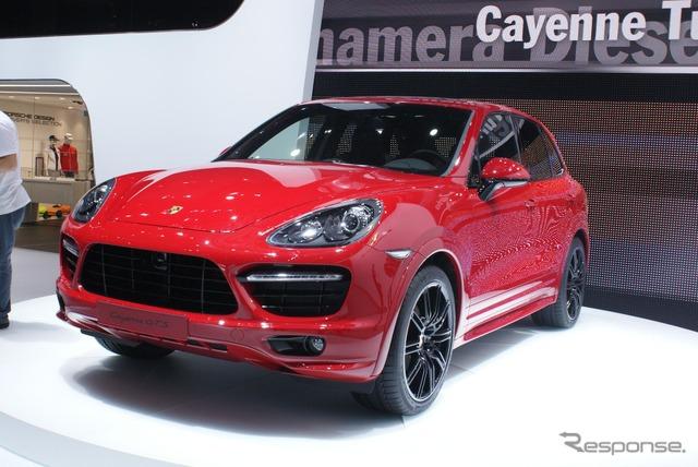 Porsche-Cayenne GTS (Beijing motor show 12)