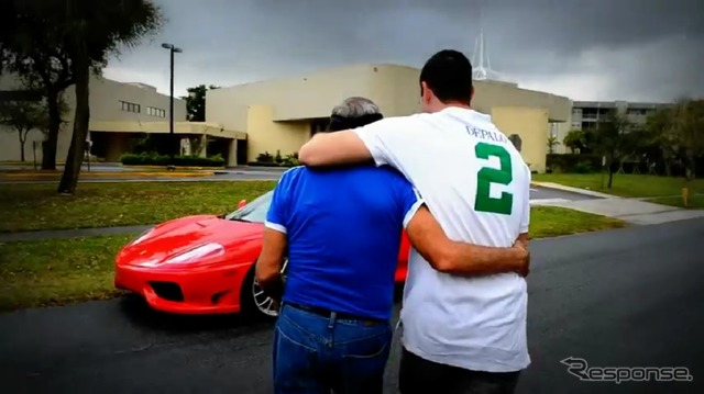 サプライズ gifts for dads, Ferrari 360 Modena ( video capture )