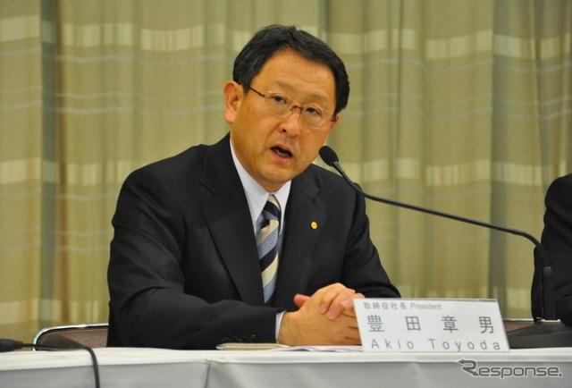 Toyota Motor Corp. CEO, Akio Toyoda