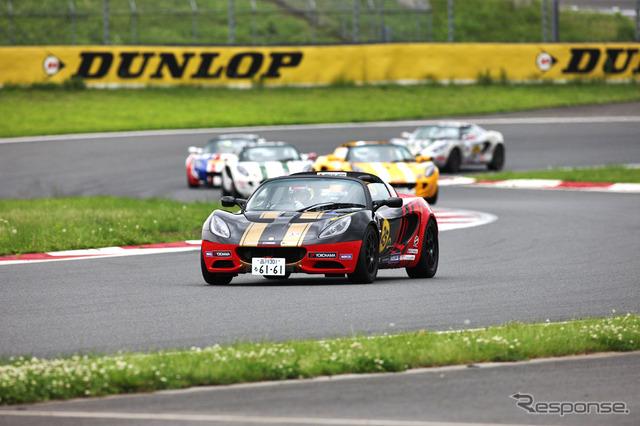 ทำการแข่งขันจัดเทศกาล 2012 ... Fuji Speedway