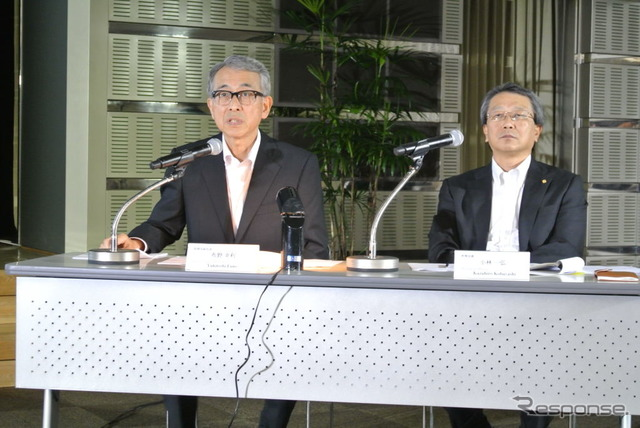 Toyota's press conference regarding initiatives for emerging markets
