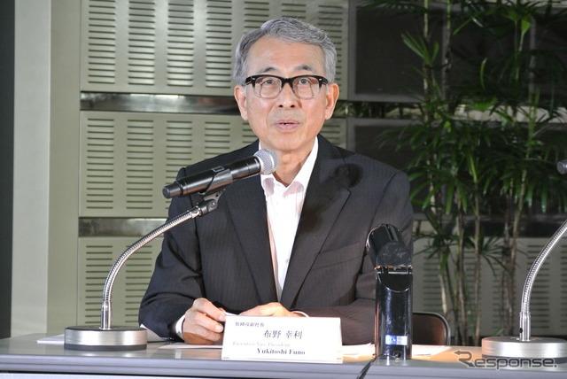 Toyota Motor Corporation Vice President, Yukitoshi Funo