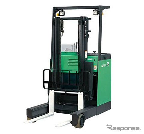 Toyota automatic loom rich type AC control electric forklift geneo R