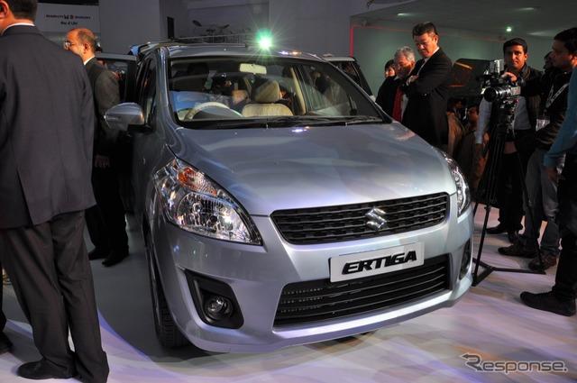 Multi-Suzuki エルティガ (Delhi Salón del automóvil 12)