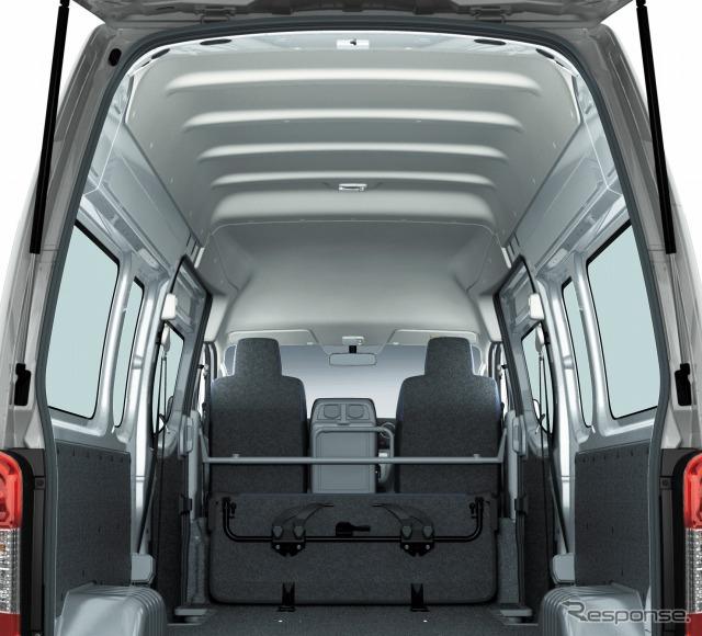 Telhado elevado de NV350-Nissan caravan van DX