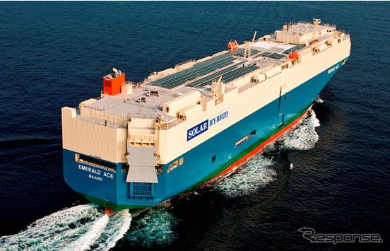 EMERALD ACE hybrid car carrier