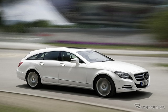 Mercedes-Benz CLS shooting break