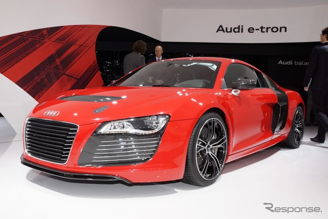 Audi R8 e-tron quattro prototype