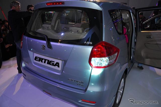 Suzuki エルティガ (Salón del automóvil de Delhi 12)