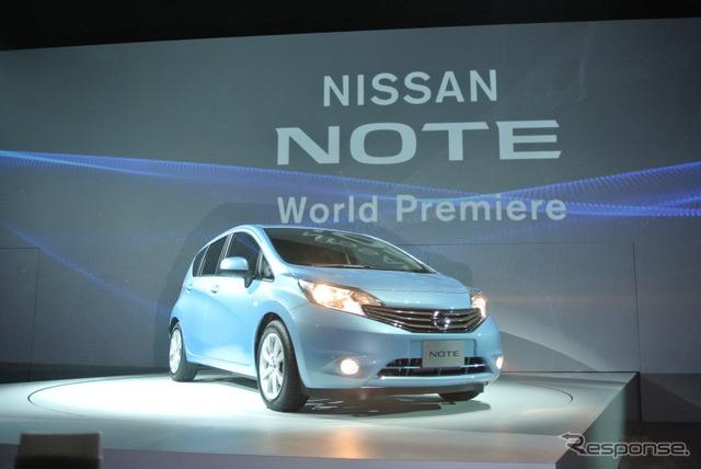 New Nissan Note world premiere