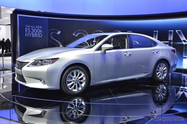 New Lexus ES hybrid, ES300h (12 New York Motor Show)