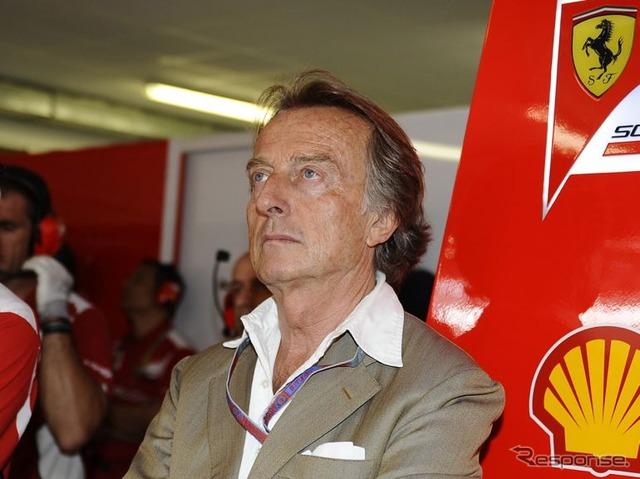 Ferrari CEO, Luca di Montezemolo