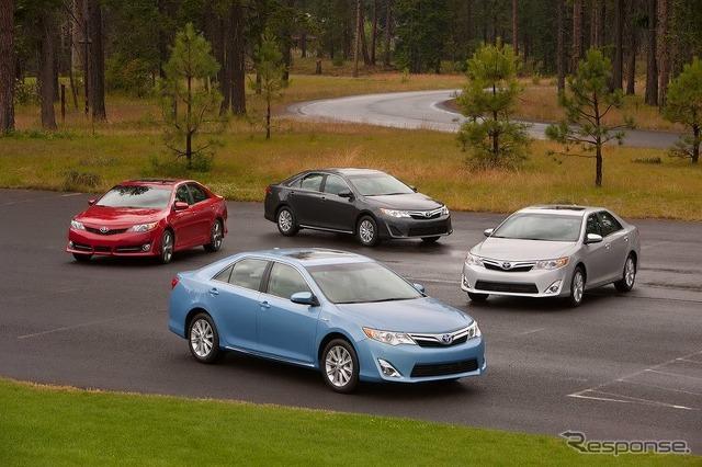 North America Toyota's new Camery