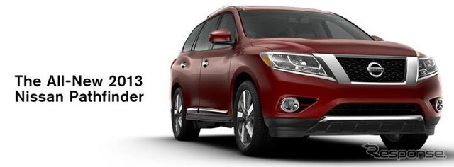 New Nissan Pathfinder debut on Nissan North America's official Facebook page