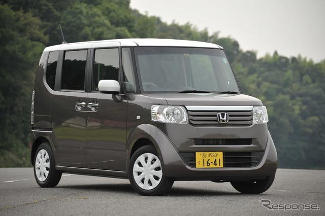 Honda-N BOX + (reference image)