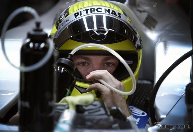 Nico Rosberg / Mercedes AMG ( 2012 Canada GP )