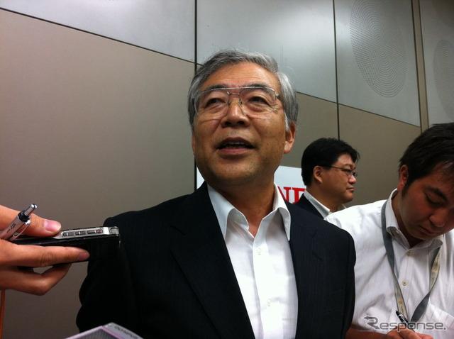 Honda, Vice President, Tetsuo Iwamura