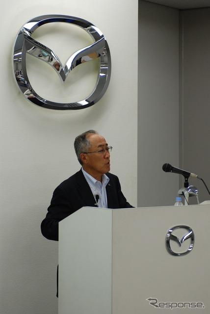 Nagasaki Kiyoshi Ozaki Mazda Executive Vice President