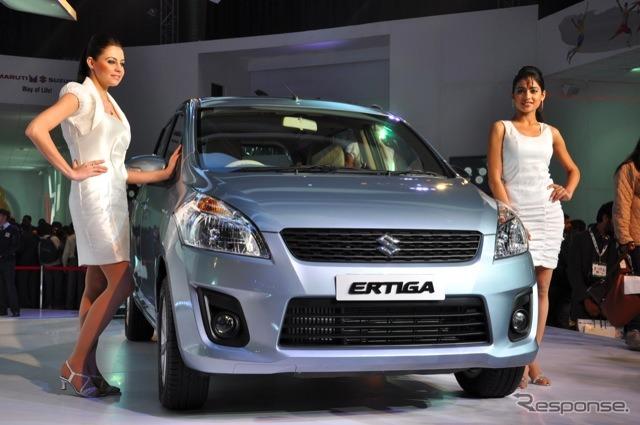Multi エルティガ (Salón del automóvil de Delhi 12)