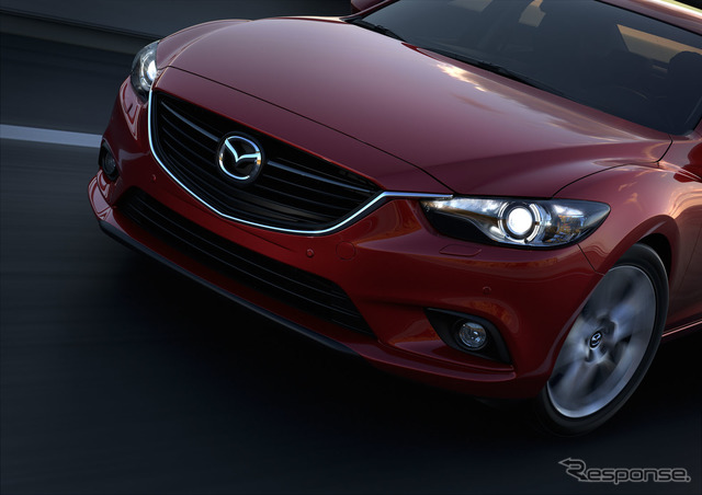 Mazda will be debuted at the Moscow Motor Show will be held at the end of August in new type 6 (Japan name: Atenza)