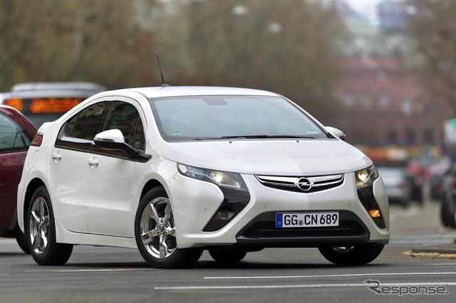 Opel ampera (พี่น้องรถยนต์เชฟโรเลตโวลต์)