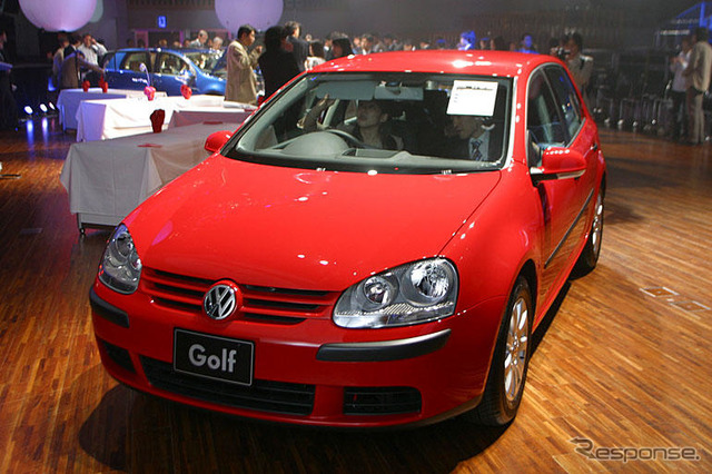 VW Golf sales strong