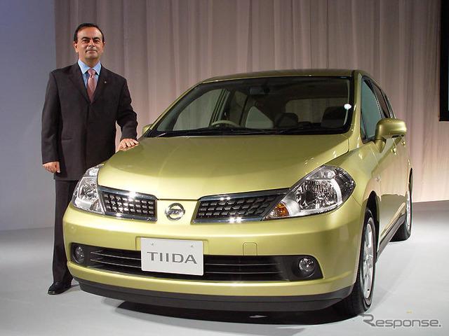 Nissan's Tiida'