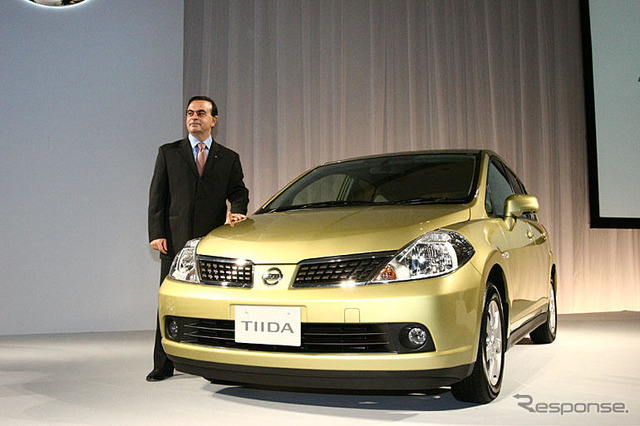 Nissan Tiida released 30 days