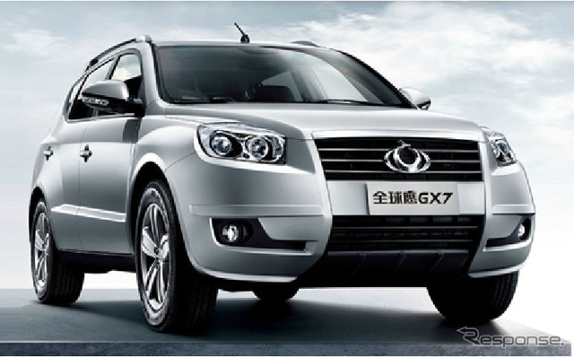 GX7, China China Geely automobile SUV