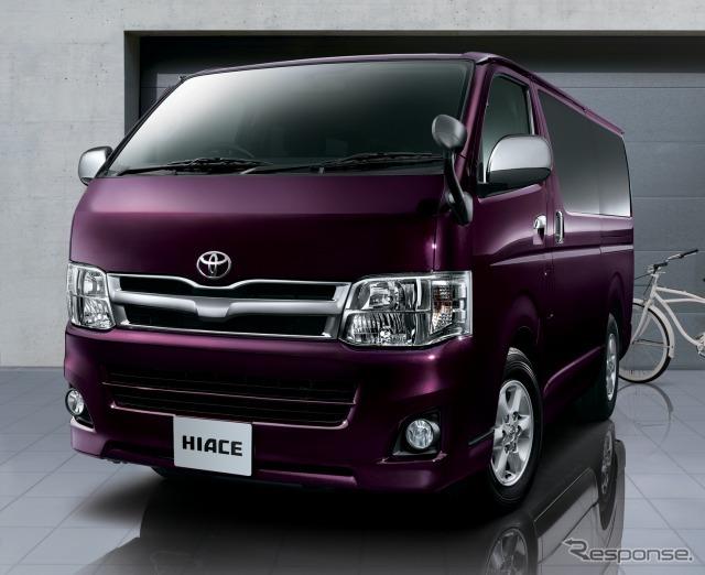 Carros de Toyota Hiace especificação especial Super GL Prime seleção 2WD 3000 diesel corpo padrão