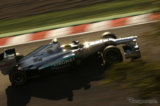 Nico Rosberg ( 2012 in Japan GP )
