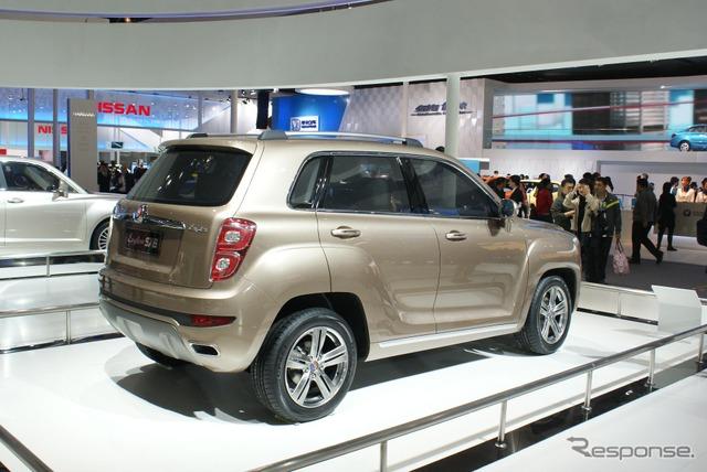 Geely coche de concepto SUV automóvil, SX6 ENGLON (motor de Beijing muestran 12 )