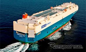 Hybrid car transport ship, Mitsui o.s.k. lines
