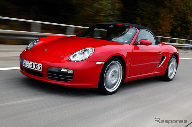 New growth run close to the 911 hits the big brother show performance in the high speed range, until 'Boxster'