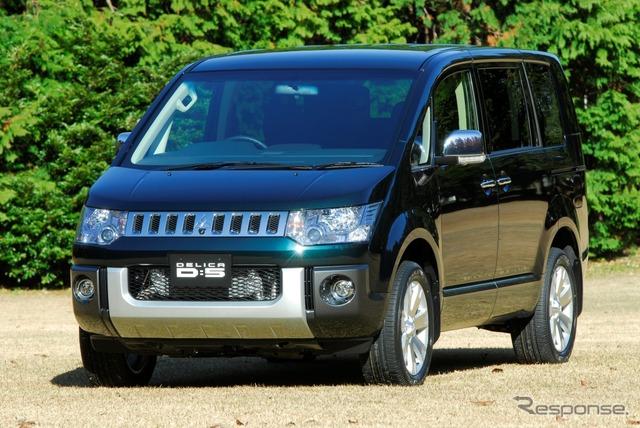 Coche de gasolina de anuncios Mitsubishi Delica D:5 diesel limpio $ 300000 más valor