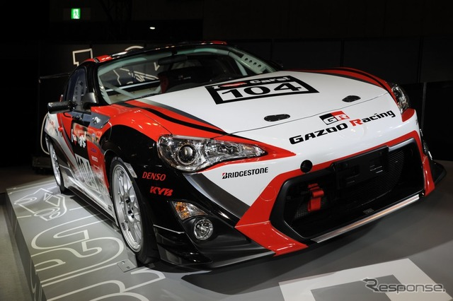 [Tokyo Auto Salon 13] Toyota 86 & Lexus LFA Nürburgring 24 hours endurance race specification [more photos]