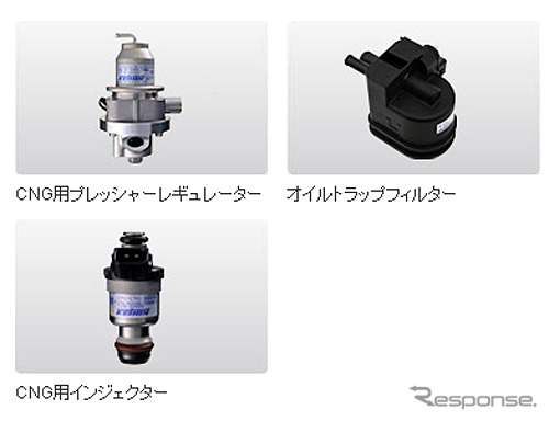 Keihin / natural gas vehicle fuel supply system