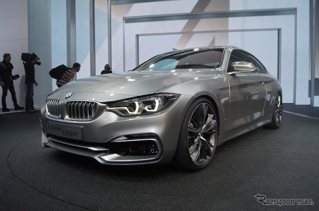 BMW (Detroit Motor Show 13) 4-series Coupe concept