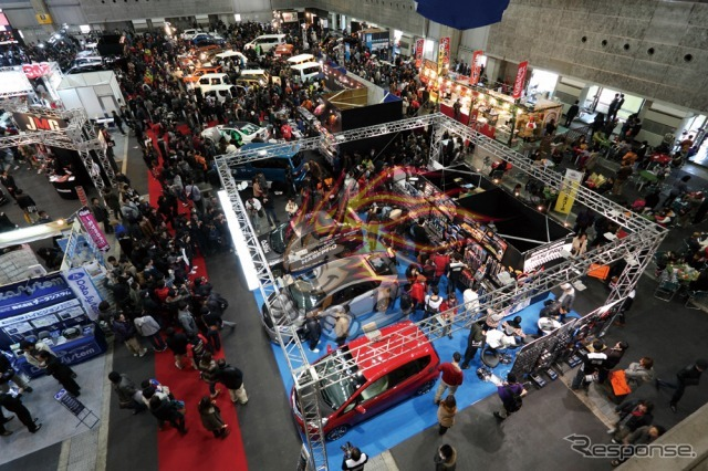 Osaka auto Messe pattern of the last year