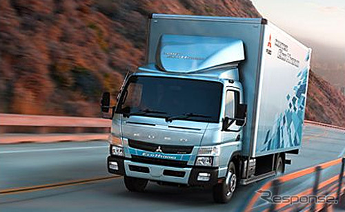 Mitsubishi Fuso, baru Canter eco hibrida (Australia spec)