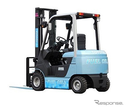Fuel cell forklift demonstration experimental vehicles