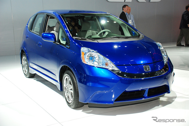 Honda fit EV (11 Los Angeles motor show) 