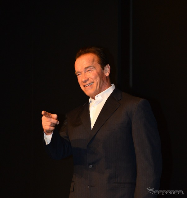 &quot;The last stand&quot; Arnold Schwarzenegger stood about 