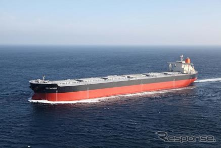 Ore carrier, Japan, IHI marine United's passing