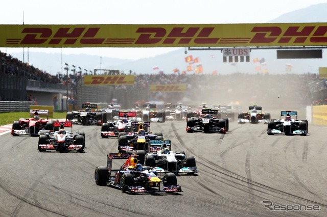 2011 F1 Turkey GP start