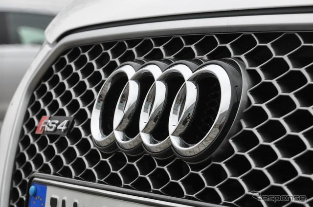 Audi ที่ออกจาก RS4
